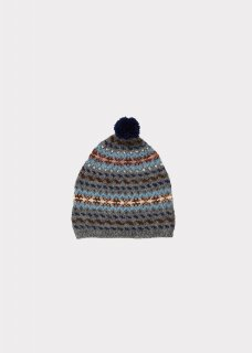 <img class='new_mark_img1' src='//img.shop-pro.jp/img/new/icons14.gif' style='border:none;display:inline;margin:0px;padding:0px;width:auto;' />CARAMEL    Agon child hat  / grey melange fairisle M
