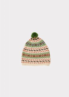 <img class='new_mark_img1' src='//img.shop-pro.jp/img/new/icons14.gif' style='border:none;display:inline;margin:0px;padding:0px;width:auto;' />CARAMEL    Agon child hat  / multi  fairisle M