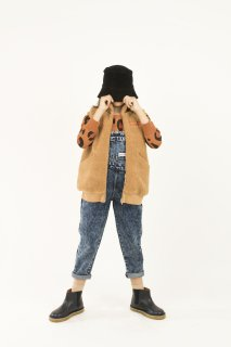 <img class='new_mark_img1' src='//img.shop-pro.jp/img/new/icons14.gif' style='border:none;display:inline;margin:0px;padding:0px;width:auto;' />TINYCOTTONS   SHERPA LONG VEST  / brown