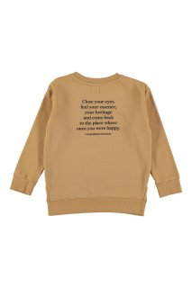 <img class='new_mark_img1' src='//img.shop-pro.jp/img/new/icons14.gif' style='border:none;display:inline;margin:0px;padding:0px;width:auto;' />the new society      Leon sweater with text on the back   / camel