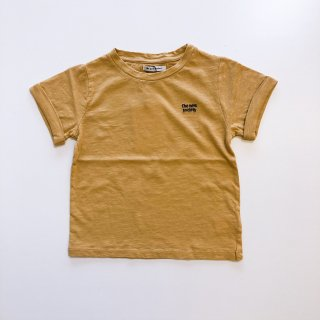 <img class='new_mark_img1' src='//img.shop-pro.jp/img/new/icons14.gif' style='border:none;display:inline;margin:0px;padding:0px;width:auto;' />the new society     Logo lurex t-shirt   / camel