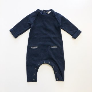 <img class='new_mark_img1' src='//img.shop-pro.jp/img/new/icons20.gif' style='border:none;display:inline;margin:0px;padding:0px;width:auto;' />1+in the family   AREZZO jumpsuit  / dark blue  9m last one!30%off
