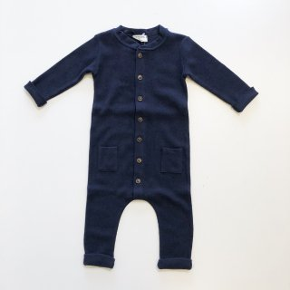 <img class='new_mark_img1' src='//img.shop-pro.jp/img/new/icons20.gif' style='border:none;display:inline;margin:0px;padding:0px;width:auto;' />1+in the family   TOULOUSE  jumpsuit  / dark blue  12m last one! 30%off