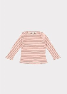 <img class='new_mark_img1' src='https://img.shop-pro.jp/img/new/icons20.gif' style='border:none;display:inline;margin:0px;padding:0px;width:auto;' />CARAMEL   DULWICH BABY T-SHIRT / ECRU STRIPE. 40%off  18m last one!
