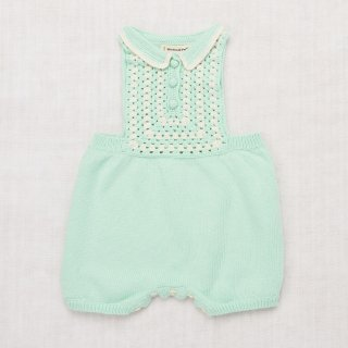 <img class='new_mark_img1' src='//img.shop-pro.jp/img/new/icons14.gif' style='border:none;display:inline;margin:0px;padding:0px;width:auto;' />MISHA&PUFF   Ezra Romper /  mint 12-18m last one!
