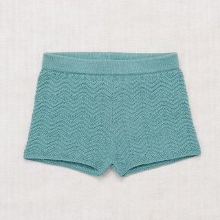 <img class='new_mark_img1' src='//img.shop-pro.jp/img/new/icons14.gif' style='border:none;display:inline;margin:0px;padding:0px;width:auto;' />MISHA&PUFF    Chevron Shorts   / Dusty Blue 5-6y last one!