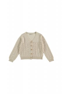 <img class='new_mark_img1' src='//img.shop-pro.jp/img/new/icons14.gif' style='border:none;display:inline;margin:0px;padding:0px;width:auto;' />the new society   Sapin Kids Knit Jacket / Natural   3y 4y 6y
