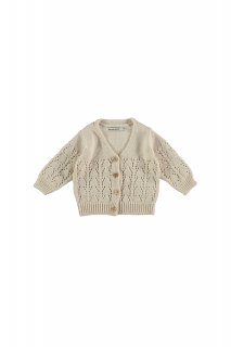 <img class='new_mark_img1' src='//img.shop-pro.jp/img/new/icons14.gif' style='border:none;display:inline;margin:0px;padding:0px;width:auto;' />the new society   Sapin Baby Knit Jacket / Natural  12m 18m 2y