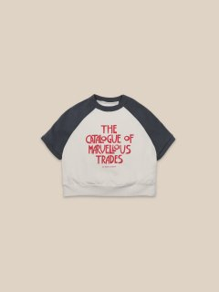 <img class='new_mark_img1' src='https://img.shop-pro.jp/img/new/icons14.gif' style='border:none;display:inline;margin:0px;padding:0px;width:auto;' />BOBO CHOSES    Catalogue Of Marvellous Trades Sweatshirt.   4-5y last one!