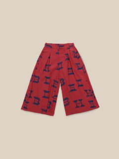 <img class='new_mark_img1' src='//img.shop-pro.jp/img/new/icons14.gif' style='border:none;display:inline;margin:0px;padding:0px;width:auto;' />BOBO CHOSES    All Over Woven Culotte Pants  4−5y last one!