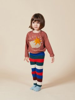 <img class='new_mark_img1' src='https://img.shop-pro.jp/img/new/icons14.gif' style='border:none;display:inline;margin:0px;padding:0px;width:auto;' />BOBO CHOSES   Baby  Lucky Star Long Sleeve T-Shirt