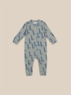 <img class='new_mark_img1' src='https://img.shop-pro.jp/img/new/icons14.gif' style='border:none;display:inline;margin:0px;padding:0px;width:auto;' />BOBO CHOSES  Baby  Zebras All Over Overall.    Last one!