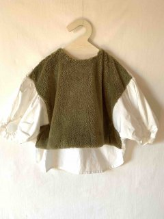<img class='new_mark_img1' src='https://img.shop-pro.jp/img/new/icons14.gif' style='border:none;display:inline;margin:0px;padding:0px;width:auto;' />folk made.   boa pullover / khaki.    L last one!