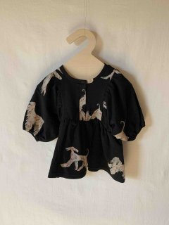 <img class='new_mark_img1' src='https://img.shop-pro.jp/img/new/icons14.gif' style='border:none;display:inline;margin:0px;padding:0px;width:auto;' /> folkmade  afghan hound gather pullover / black print