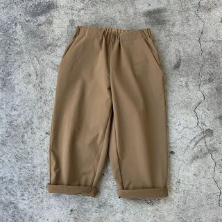 <img class='new_mark_img1' src='https://img.shop-pro.jp/img/new/icons14.gif' style='border:none;display:inline;margin:0px;padding:0px;width:auto;' />MOUN TEN.    double cloth stretch pants / coyote.   125cm last one!