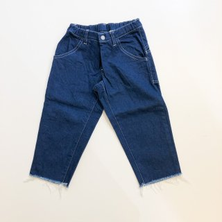 <img class='new_mark_img1' src='https://img.shop-pro.jp/img/new/icons14.gif' style='border:none;display:inline;margin:0px;padding:0px;width:auto;' />MOUN TEN.    wide cropped denim / blue.    125cm last one!