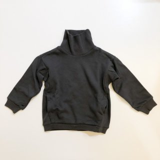 <img class='new_mark_img1' src='https://img.shop-pro.jp/img/new/icons14.gif' style='border:none;display:inline;margin:0px;padding:0px;width:auto;' />MOUN TEN.    sweat highneck / charcoal  110cm last one!