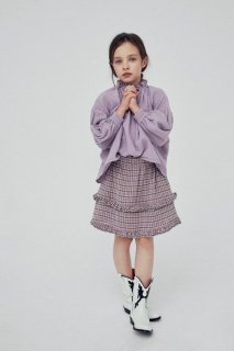 <img class='new_mark_img1' src='https://img.shop-pro.jp/img/new/icons14.gif' style='border:none;display:inline;margin:0px;padding:0px;width:auto;' />the new society   OLIVIA BLOUSE / lavanda  6y last one!