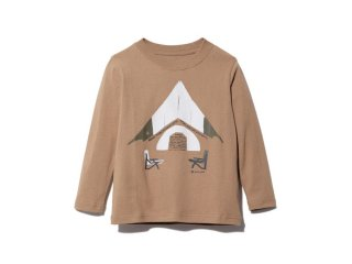 <img class='new_mark_img1' src='https://img.shop-pro.jp/img/new/icons14.gif' style='border:none;display:inline;margin:0px;padding:0px;width:auto;' />Snow peak  Snow peak  Graphic Tee / brown