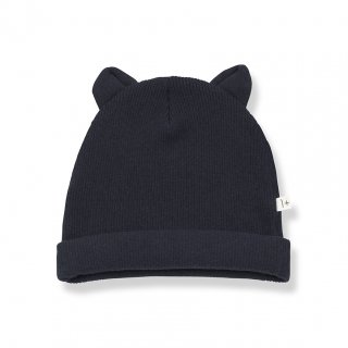 <img class='new_mark_img1' src='https://img.shop-pro.jp/img/new/icons14.gif' style='border:none;display:inline;margin:0px;padding:0px;width:auto;' />1+in the family  MULL BEANIE / blue notto