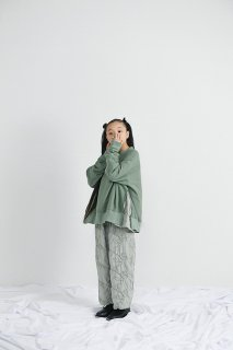 <img class='new_mark_img1' src='//img.shop-pro.jp/img/new/icons14.gif' style='border:none;display:inline;margin:0px;padding:0px;width:auto;' />UNIONINI   garden long pants  / green