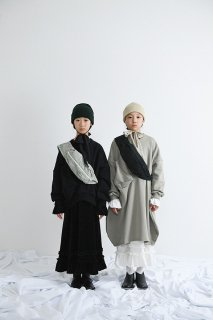 <img class='new_mark_img1' src='//img.shop-pro.jp/img/new/icons14.gif' style='border:none;display:inline;margin:0px;padding:0px;width:auto;' />UNIONINI   ○△ sweat long dress  / Smokey green