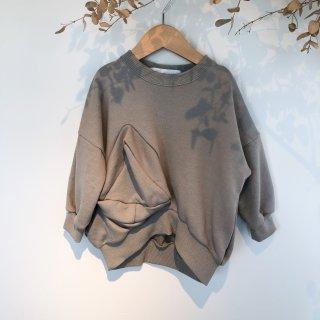 <img class='new_mark_img1' src='https://img.shop-pro.jp/img/new/icons14.gif' style='border:none;display:inline;margin:0px;padding:0px;width:auto;' />UNIONINI   ○△ sweat sweat shirt  / Smokey green  6-8y last one!