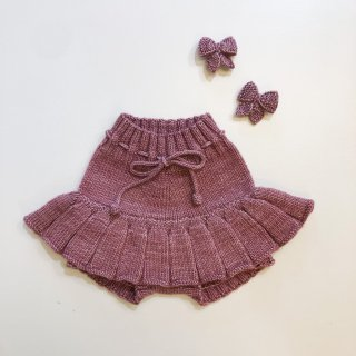 <img class='new_mark_img1' src='https://img.shop-pro.jp/img/new/icons14.gif' style='border:none;display:inline;margin:0px;padding:0px;width:auto;' />MISHA&PUFF    Skating Pond Skirt / Antique Rose