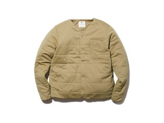 <img class='new_mark_img1' src='https://img.shop-pro.jp/img/new/icons14.gif' style='border:none;display:inline;margin:0px;padding:0px;width:auto;' />Snow peak  Flexible Insulated Cardigan ユニセックスサイズ / Beige.    L last one!