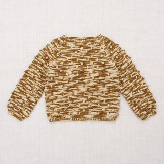 <img class='new_mark_img1' src='https://img.shop-pro.jp/img/new/icons14.gif' style='border:none;display:inline;margin:0px;padding:0px;width:auto;' />MISHA&PUFF     Popcorn Sweater /  bronze space dye