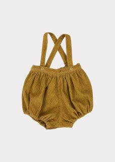 <img class='new_mark_img1' src='https://img.shop-pro.jp/img/new/icons14.gif' style='border:none;display:inline;margin:0px;padding:0px;width:auto;' />CARAMEL    Dunlin Baby Romper/  Mustard