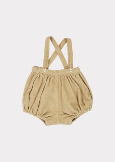 <img class='new_mark_img1' src='https://img.shop-pro.jp/img/new/icons14.gif' style='border:none;display:inline;margin:0px;padding:0px;width:auto;' />CARAMEL    Dunlin Baby Romper/ Flax