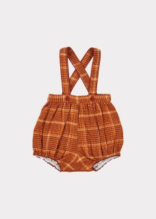 <img class='new_mark_img1' src='https://img.shop-pro.jp/img/new/icons14.gif' style='border:none;display:inline;margin:0px;padding:0px;width:auto;' />CARAMEL    Dunlin Baby Romper/ Orange Check