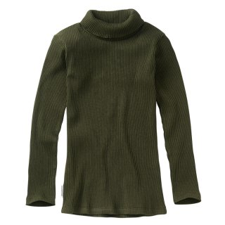 <img class='new_mark_img1' src='https://img.shop-pro.jp/img/new/icons14.gif' style='border:none;display:inline;margin:0px;padding:0px;width:auto;' />MINGO  Rib turtle neck / forest night 4-6y last one!