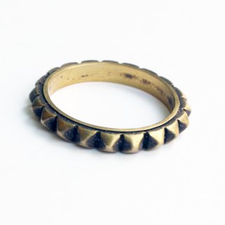 STUDS RING (BRASS)<img class='new_mark_img2' src='https://img.shop-pro.jp/img/new/icons5.gif' style='border:none;display:inline;margin:0px;padding:0px;width:auto;' />