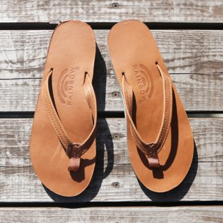 DOUBLE LAYER WOMEN'S LEATHER SANDAL
