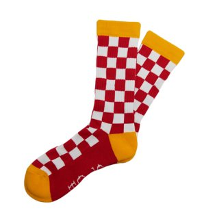 Checker Socks<img class='new_mark_img2' src='https://img.shop-pro.jp/img/new/icons5.gif' style='border:none;display:inline;margin:0px;padding:0px;width:auto;' />