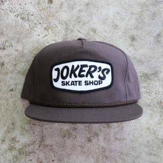 【JOKER'S SKATE SHOP】LOGO CAP<img class='new_mark_img2' src='https://img.shop-pro.jp/img/new/icons5.gif' style='border:none;display:inline;margin:0px;padding:0px;width:auto;' />