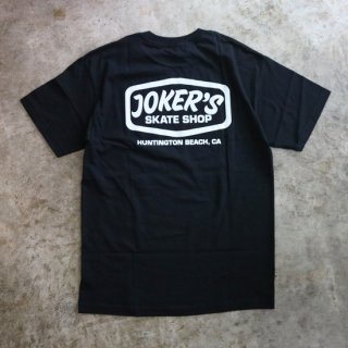【JOKER'S SKATE SHOP】LOGO TEE<img class='new_mark_img2' src='https://img.shop-pro.jp/img/new/icons5.gif' style='border:none;display:inline;margin:0px;padding:0px;width:auto;' />