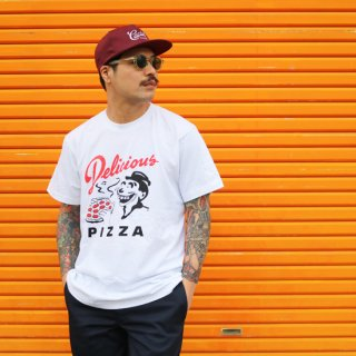 【Delicious Pizza】LOGO TEE<img class='new_mark_img2' src='https://img.shop-pro.jp/img/new/icons5.gif' style='border:none;display:inline;margin:0px;padding:0px;width:auto;' />