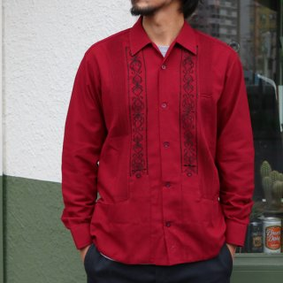 L/S GUAYABERA REJILLADA <img class='new_mark_img2' src='https://img.shop-pro.jp/img/new/icons5.gif' style='border:none;display:inline;margin:0px;padding:0px;width:auto;' />