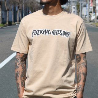 【FUCKING AWESOME】LOGO TEE<img class='new_mark_img2' src='https://img.shop-pro.jp/img/new/icons5.gif' style='border:none;display:inline;margin:0px;padding:0px;width:auto;' />