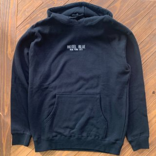 【HOTEL BLUE】LOGO HOODIE<img class='new_mark_img2' src='https://img.shop-pro.jp/img/new/icons5.gif' style='border:none;display:inline;margin:0px;padding:0px;width:auto;' />