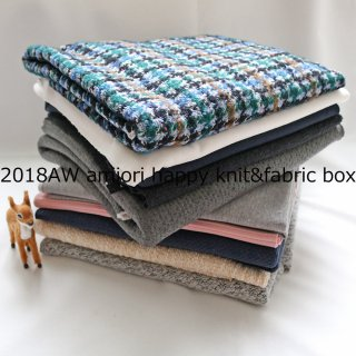 <img class='new_mark_img1' src='https://img.shop-pro.jp/img/new/icons1.gif' style='border:none;display:inline;margin:0px;padding:0px;width:auto;' />2018AW amiori happyknit&fabric boxカラフルチェックJQ 50cm10枚SET