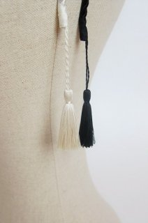 Pois E<br>カチューシャ<br>TASSEL<br>black/white