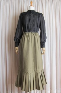 Film by quietroom<br>pleats long skirt<br>#4