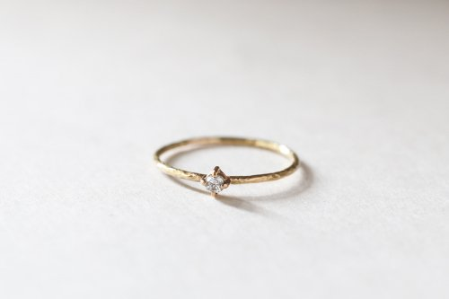 Twig ring / diamond