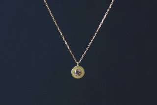 0.2ct brown diamond necklace