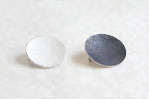 Moon brooch