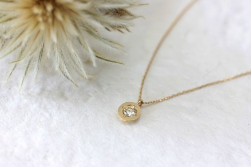 0.2ct diamond necklace